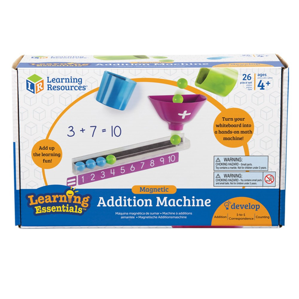 Magnetic Addition Machine Ler6368 Learning Resources