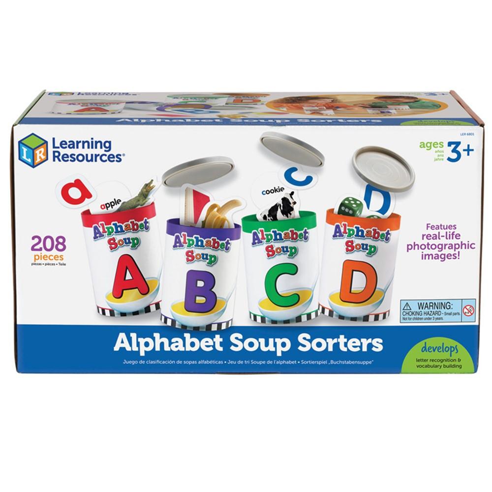 LER6801 - Alphabet Soup Sorters in Letter Recognition