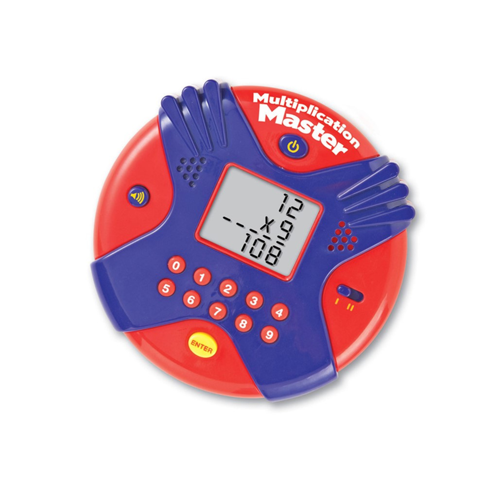 LER6967 - Multiplication Master Electronic Flash Card in Flash Cards