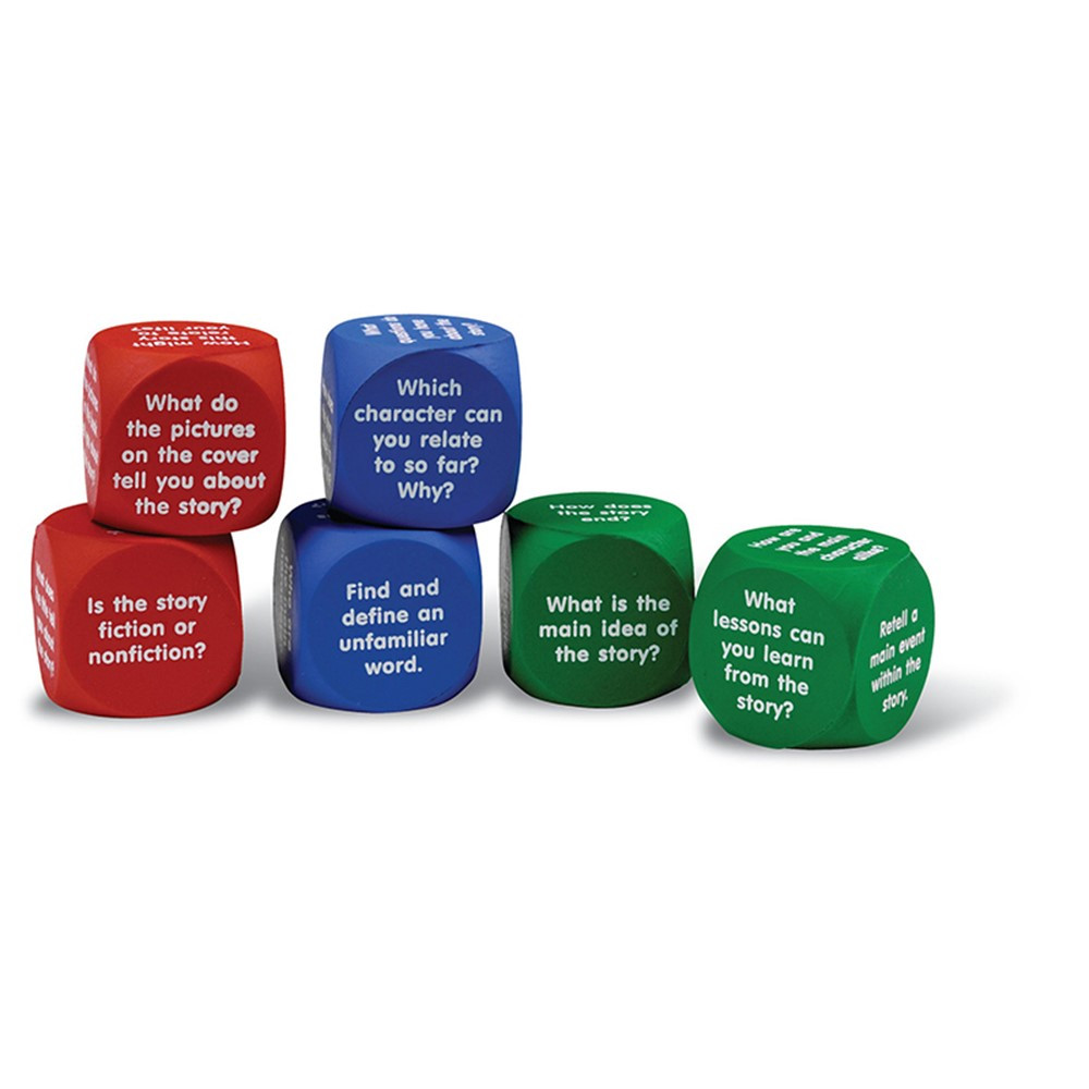 LER7022 - Reading Comprehension Cubes in Comprehension