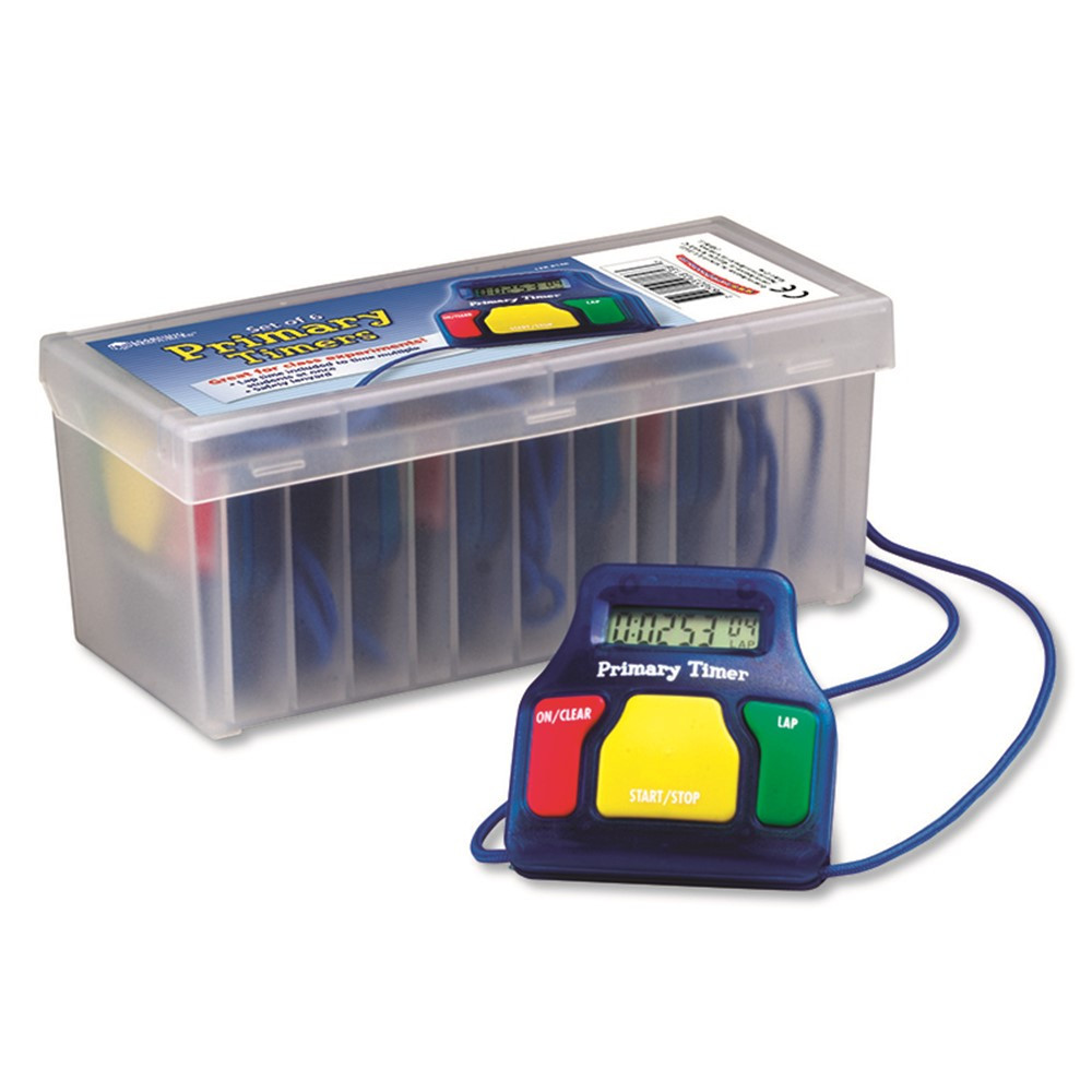 LER8136 - Primary Timers Set Of 6 in Timers