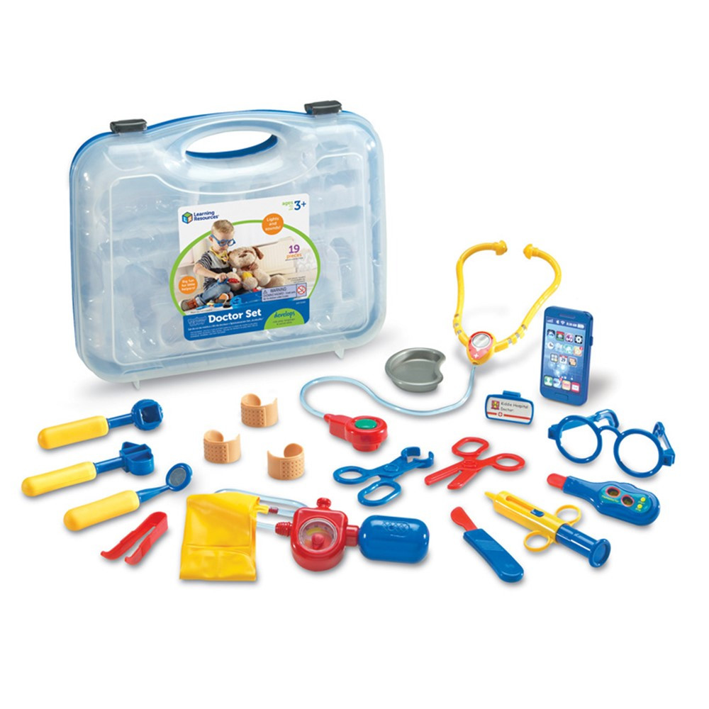 LER9048 - Pretend & Play Doctor Set in Pretend & Play