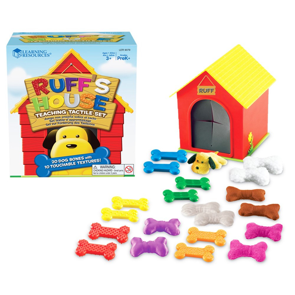 LER9079 - Ruffs House Teaching Tactile Set in Sensory Development