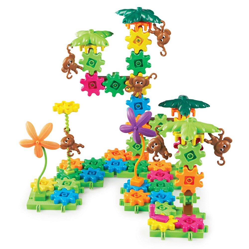 LER9119 - Gears Gears Gears Movin Monkeys in Blocks & Construction Play
