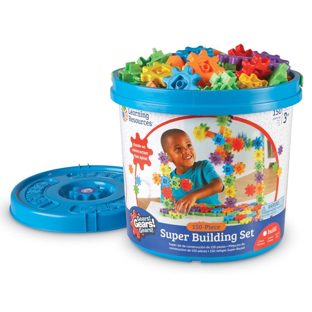 LER9164 - Gears Super Set 150 Pieces in Blocks & Construction Play
