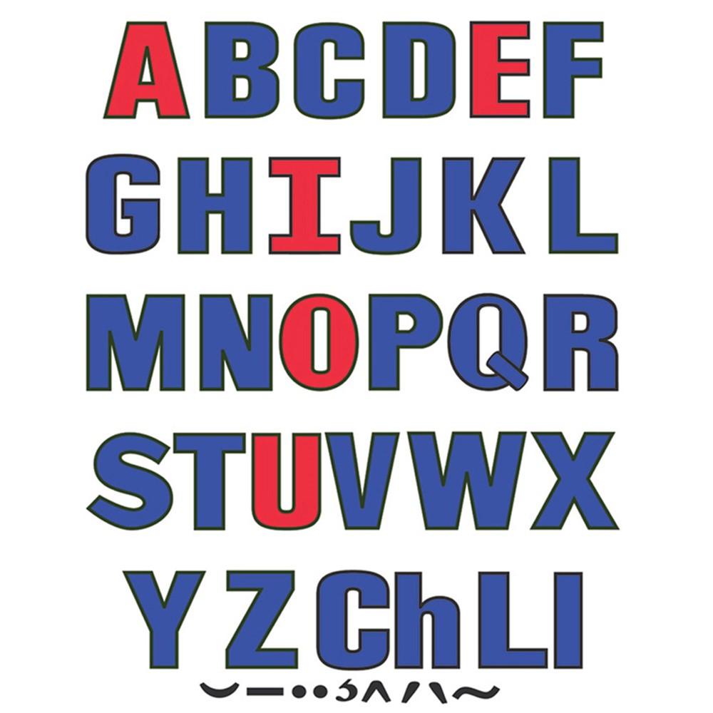 LFV22426 - Upper Case Letters Flannelboard Set in Flannel Boards