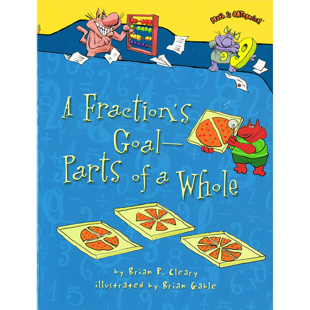 LPB1467713805 - Math Is Categorical A Fractions Goal  Parts Of A Whole in Math