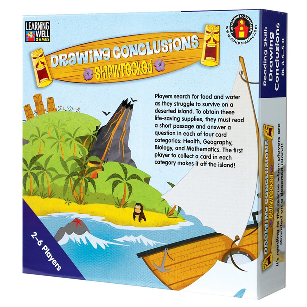 LRN1081 - Drawing Conclusion Shipwrecked Blue in Language Arts