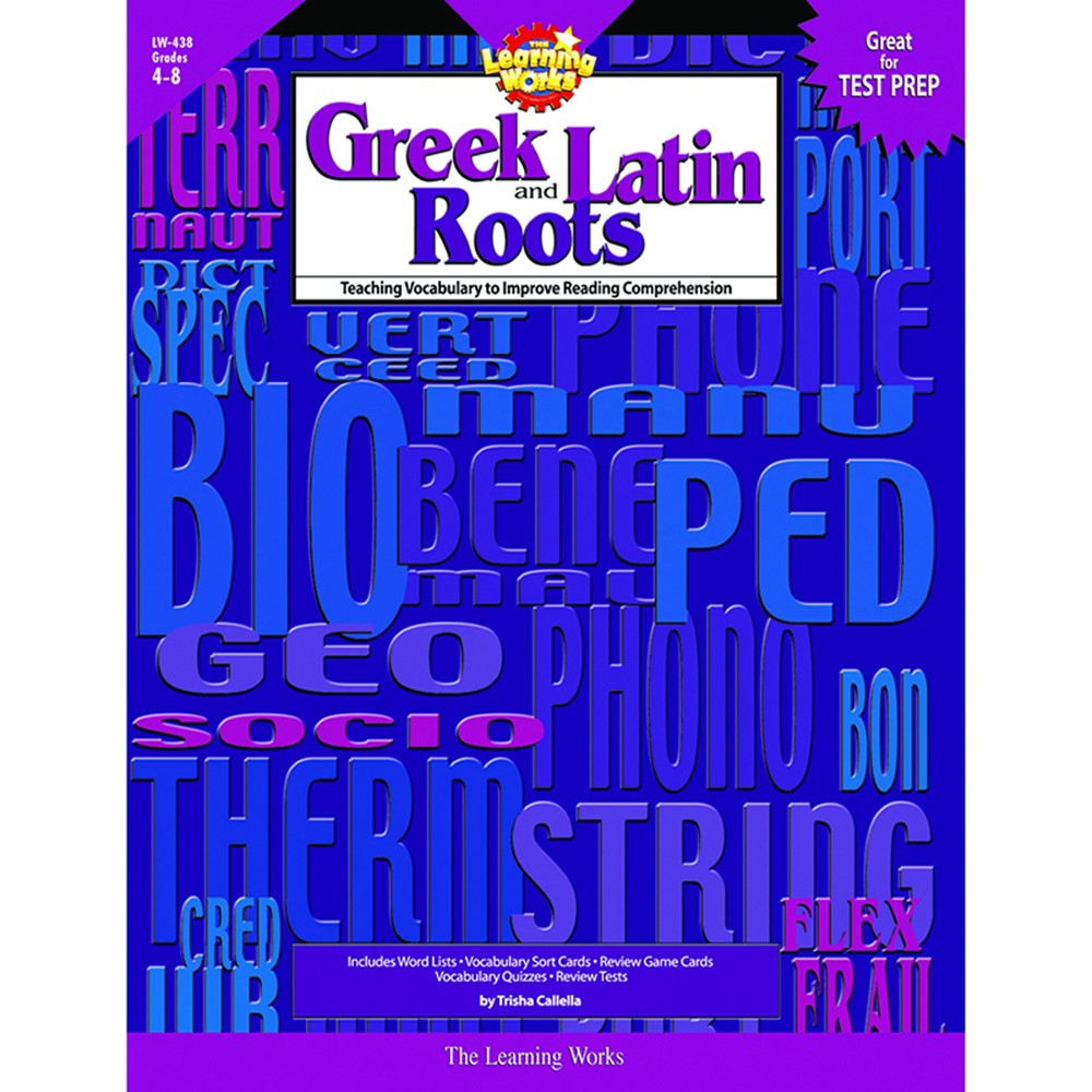 LW-438 - Greek And Latin Roots in Word Skills