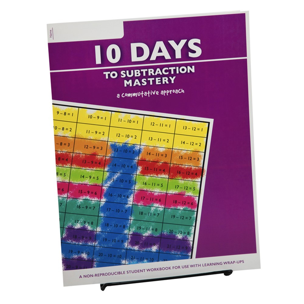 10 Days to Subtraction Mastery Student Workbook - LWU752   Learning Wrap-Ups   Addition & Subtraction