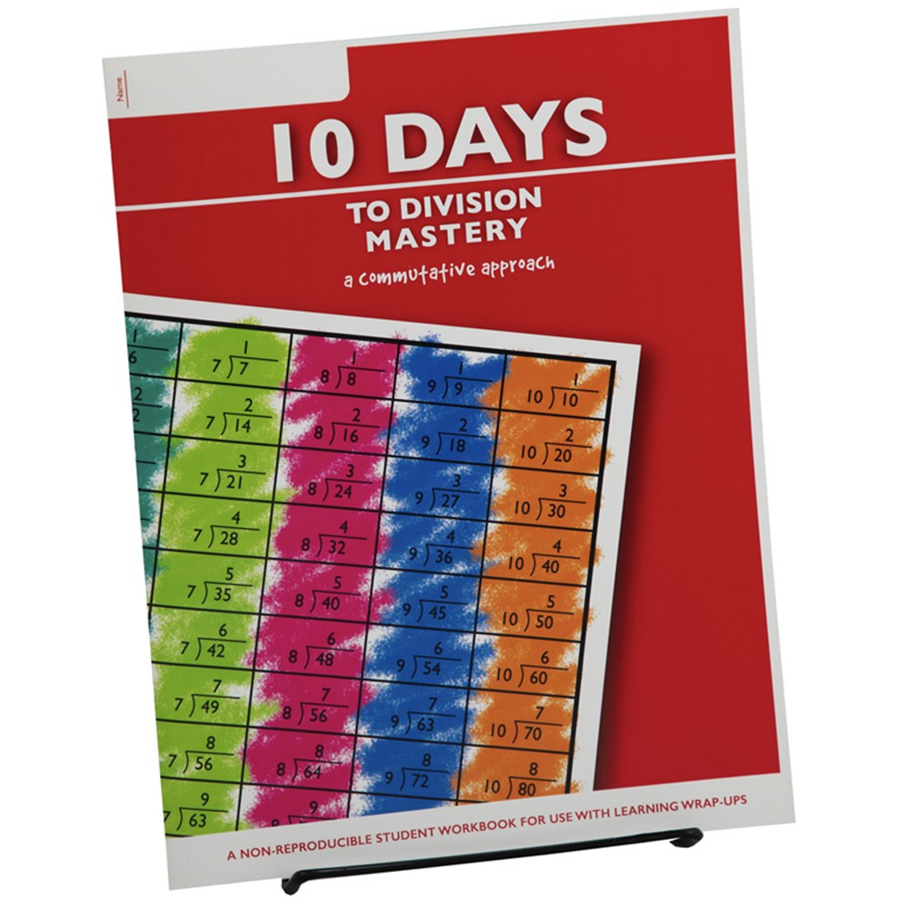 10 Days to Division Mastery Student Workbook - LWU754 | Learning Wrap-Ups | Multiplication & Division