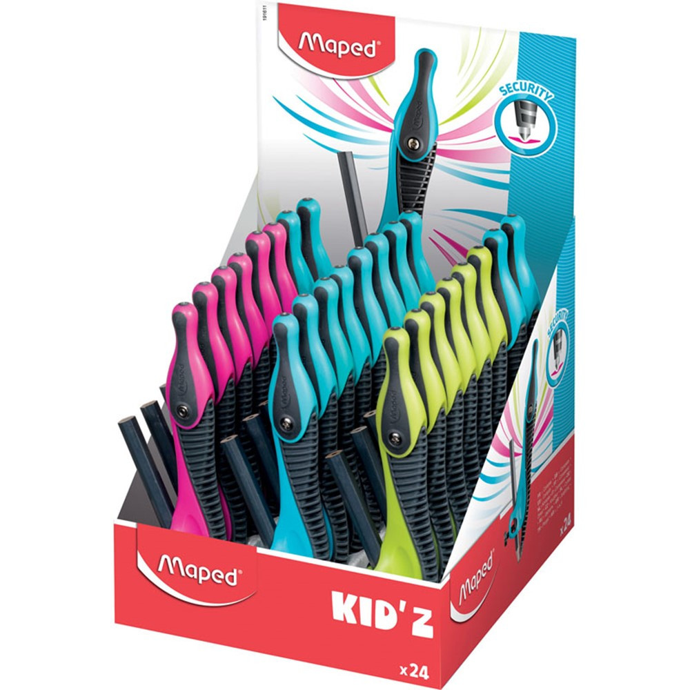 MAP191611 - Kidz Soft Grip Compass 24 Pack in Drawing Instruments