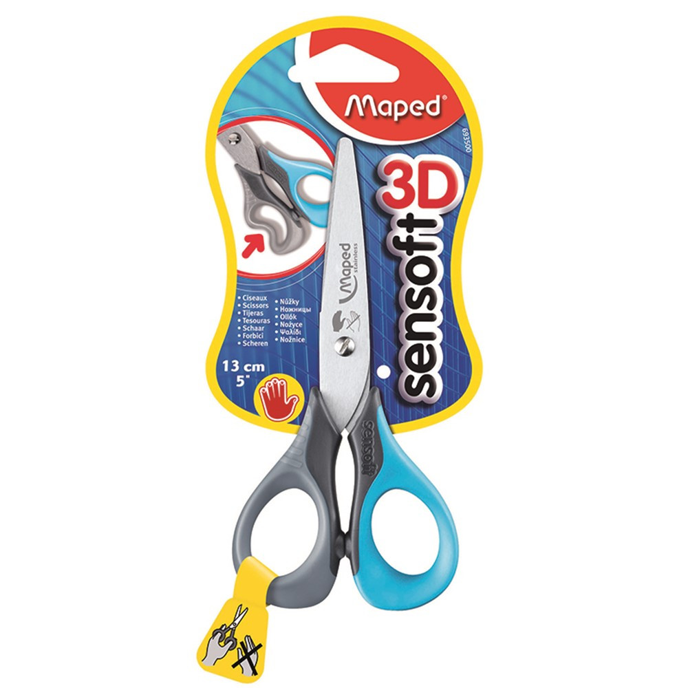 MAP693500 - 5In Sensoft Scissors Left Handed in Scissors