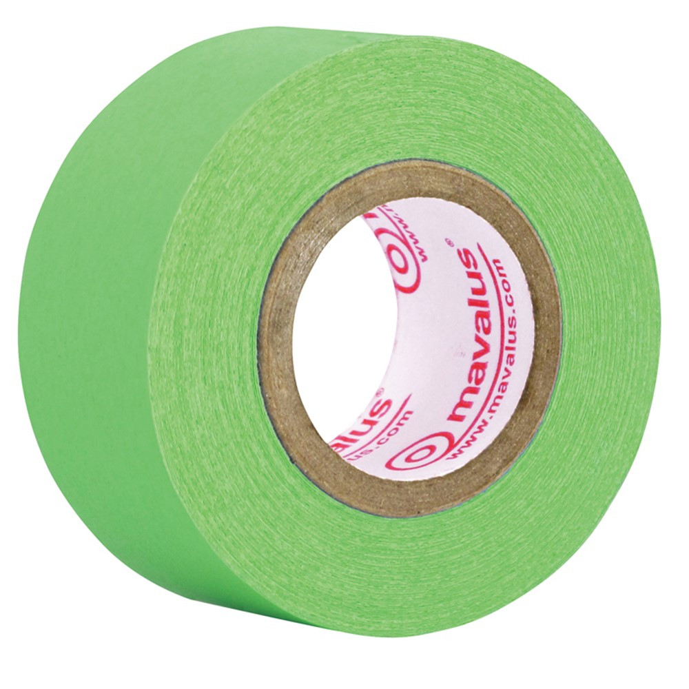 MAV10015 - Mavalus Tape 1 X 360 Green in Tape & Tape Dispensers