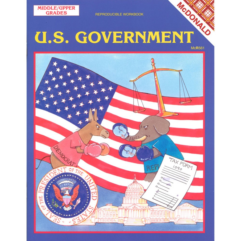 MC-R561 - The Us Government Gr 6-9 in Government