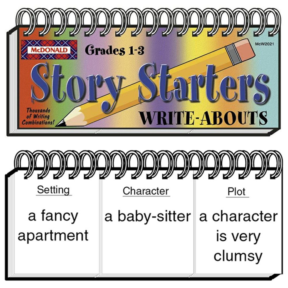 MC-W2021 - Write-Abouts Story Starters Gr 1-3 in Writing Skills