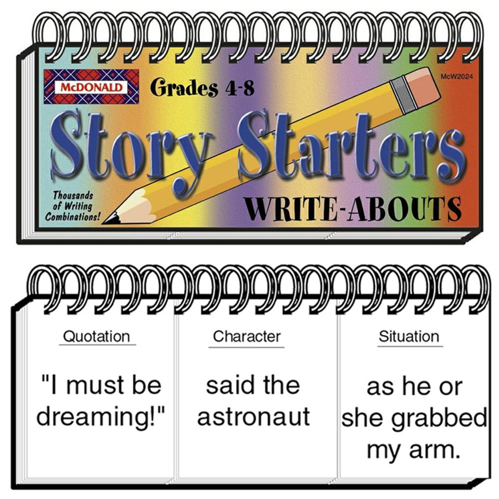 MC-W2024 - Write Abouts Story Starters in Writing Skills