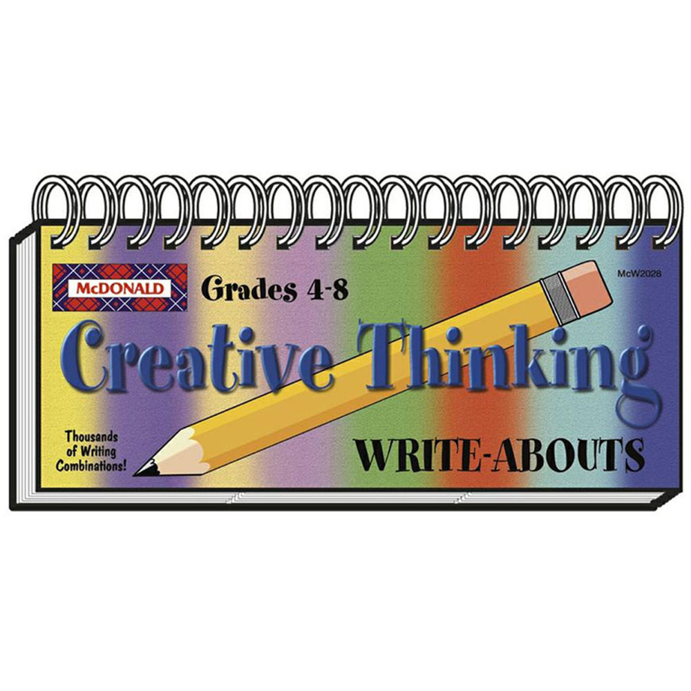 MC-W2028 - Creative Thinking Write Abouts in Writing Skills