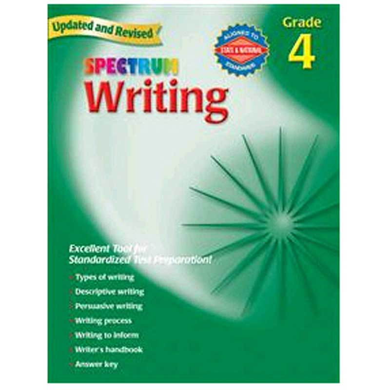 MGH0769652840 - Spectrum Writing Gr 4 in Writing Skills