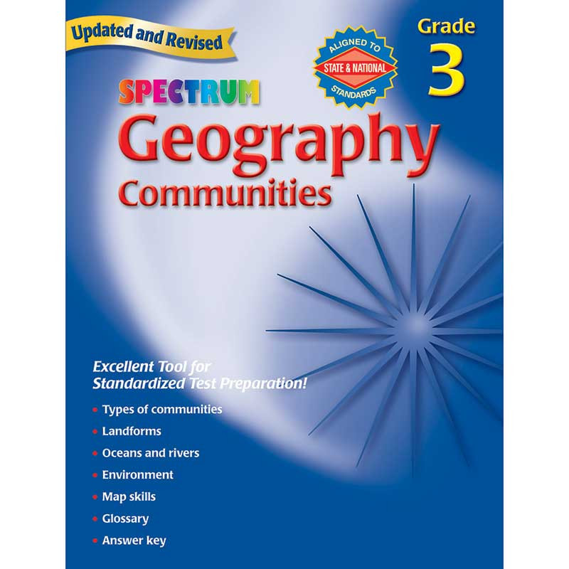 MGH0769681239 - Spectrum Geography Gr 3 in Geography