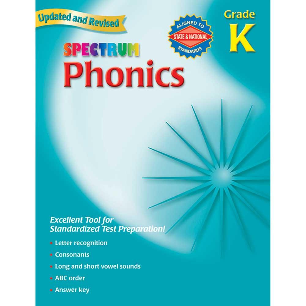 MGH0769682901 - Spectrum Phonics Gr K in Phonics