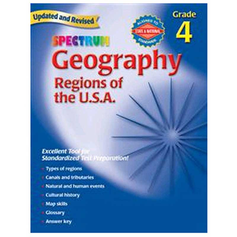 MGH0769687245 - Spectrum Geography Gr 4 in Geography
