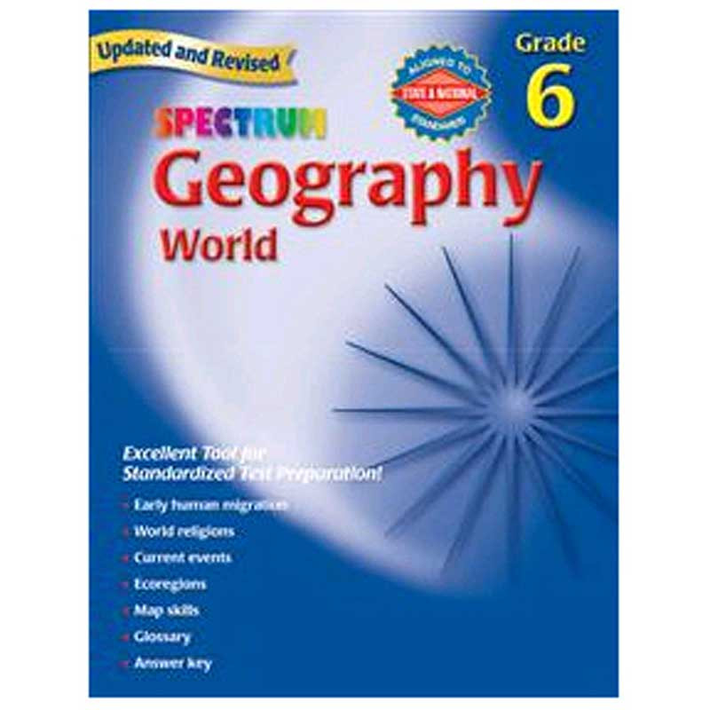 MGH0769687261 - Spectrum Geography Gr 6 in Geography