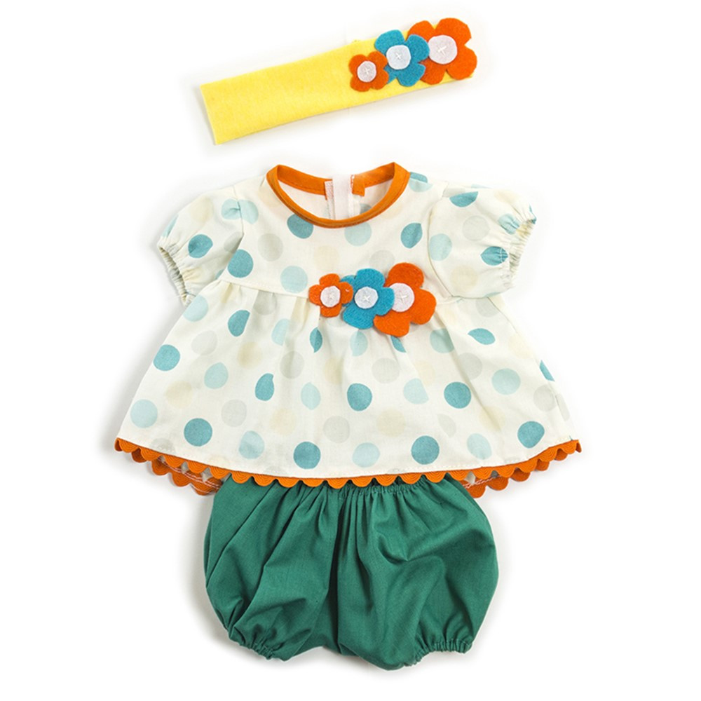 MLE31562 - Doll Clothes Girl Summer Outfit in Dolls