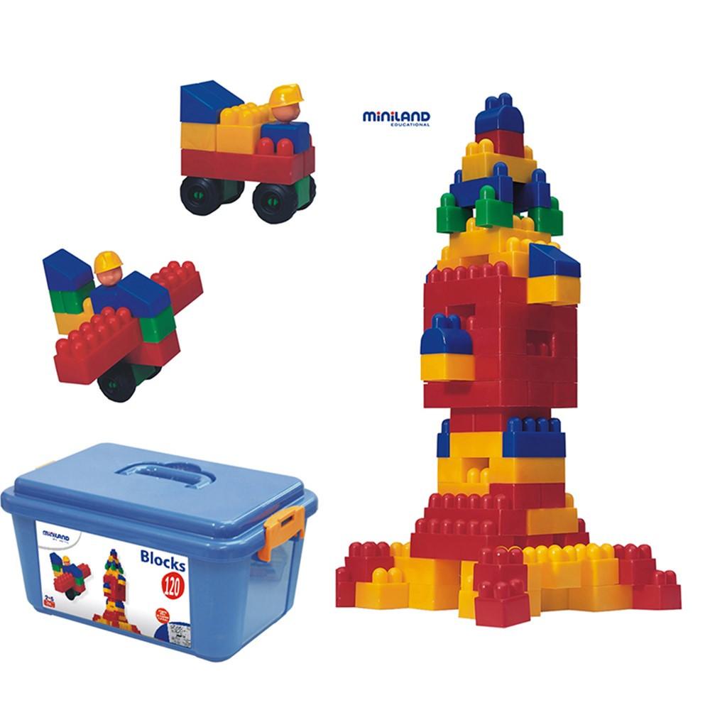 MLE32310 - Blocks 120Pc Set in Blocks & Construction Play