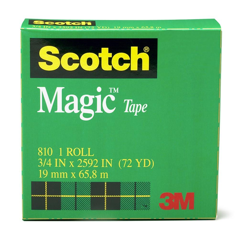 MMM810341296 - Tape Scotch Magic 3/4 X 36 Yds in Tape & Tape Dispensers