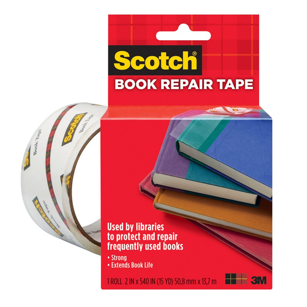 MMM8452 - Book Tape 2 X 15 Yds in Tape & Tape Dispensers