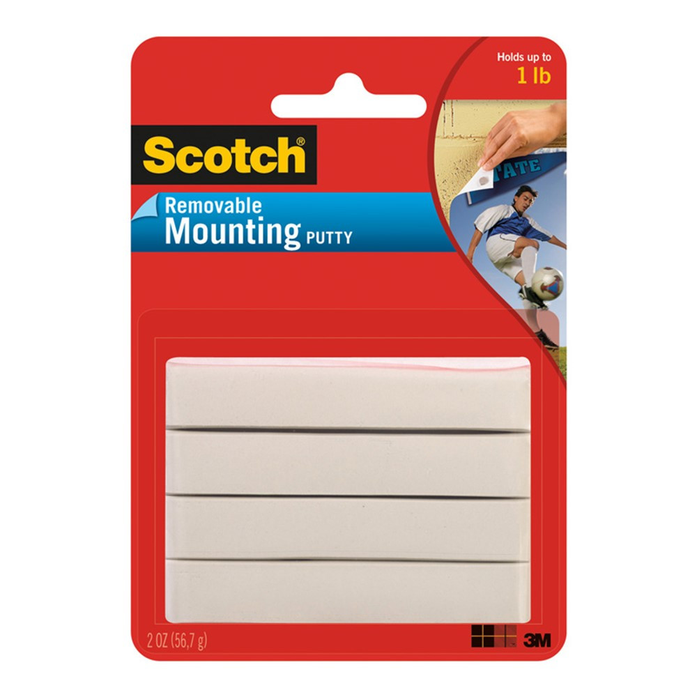 MMM860 - Scotch Removable Adhesive Putty in Adhesives