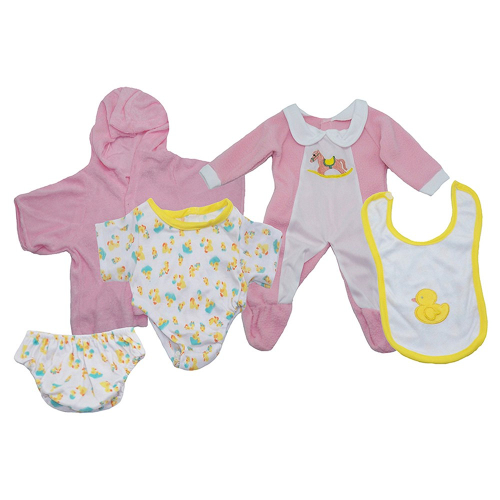 MTB1300 - Doll Clothes Set Of 3 Girl Outfits in Dolls