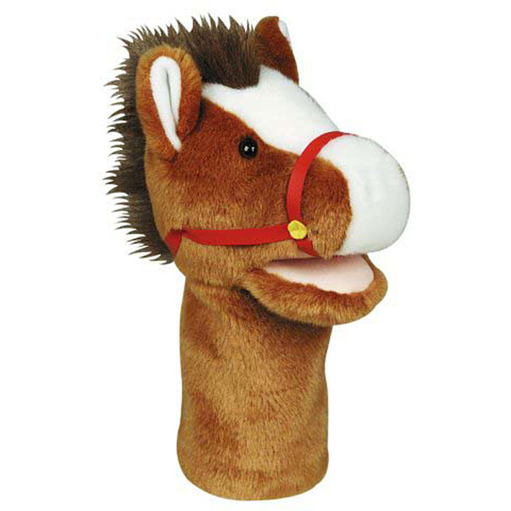 MTB202 - Plushpups Hand Puppet Horse in Puppets & Puppet Theaters