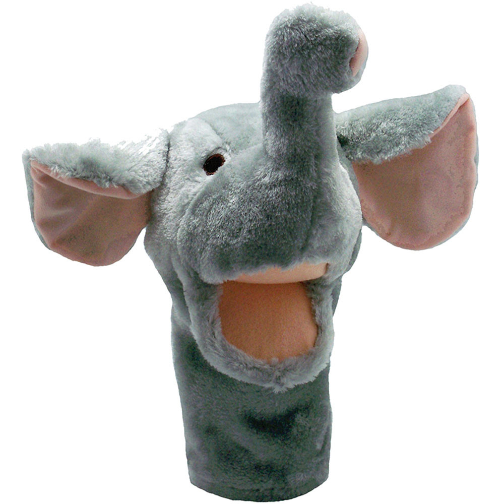 MTB209 - Plushpups Hand Puppet Elephant in Puppets & Puppet Theaters