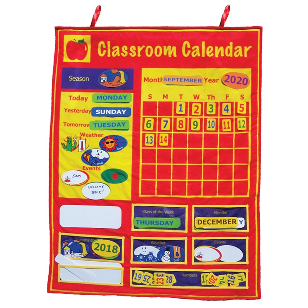 MTB800 - Classroom Calendar in Calendars