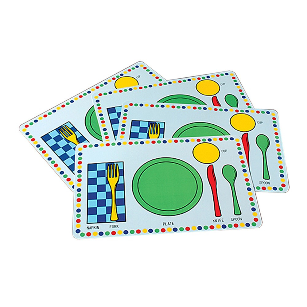 MTC297 - Meal Mats Set Of 4 in Play Food