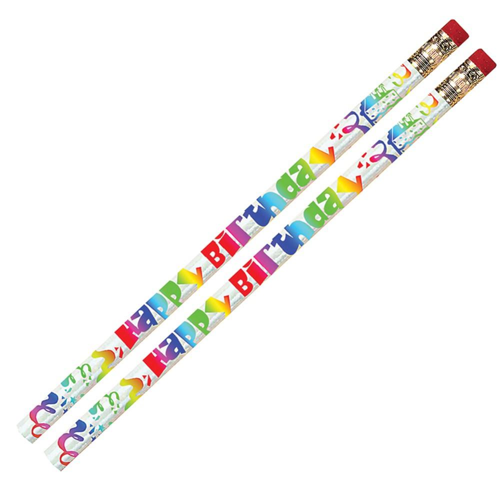 MUS1361D - Happy Birthday Fiesta 12Pk Pencil in Pencils & Accessories