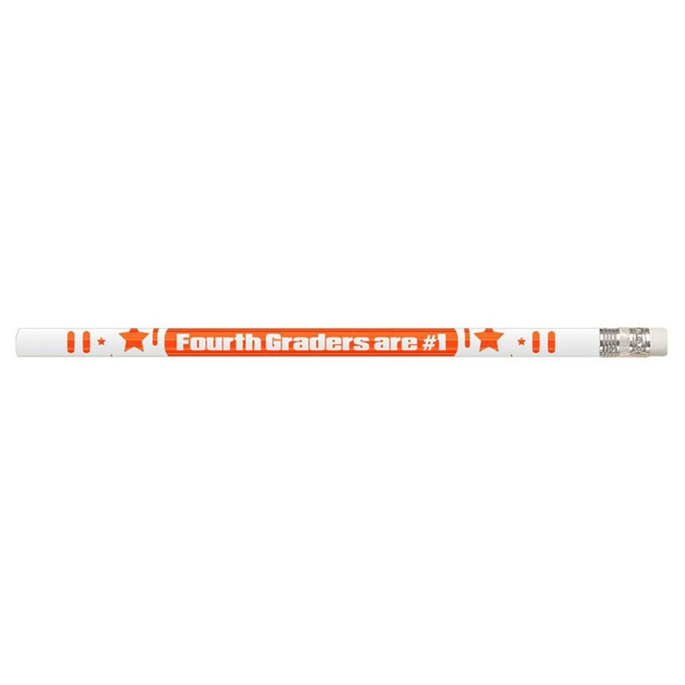 MUS2207D - 4Th Graders Are #1 12Pk Motivational Fun Pencils in Pencils & Accessories