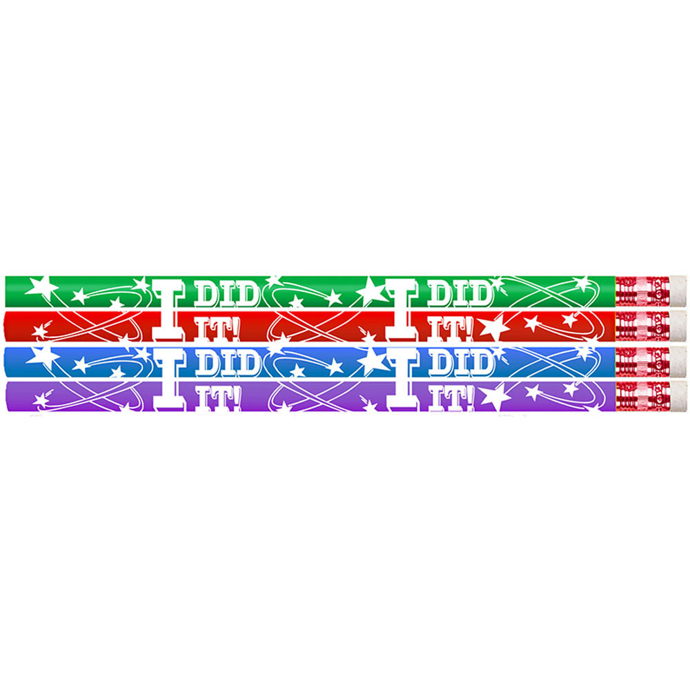 MUS2464D - I Did It Pencil 12Pk in Pencils & Accessories