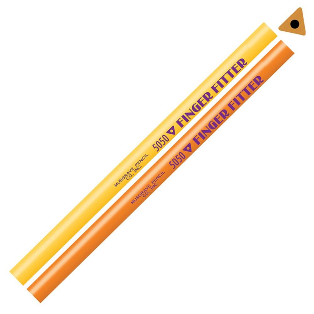 MUS5050 - Finger Fitter No Eraser Pencils 1Dz in Pencils & Accessories