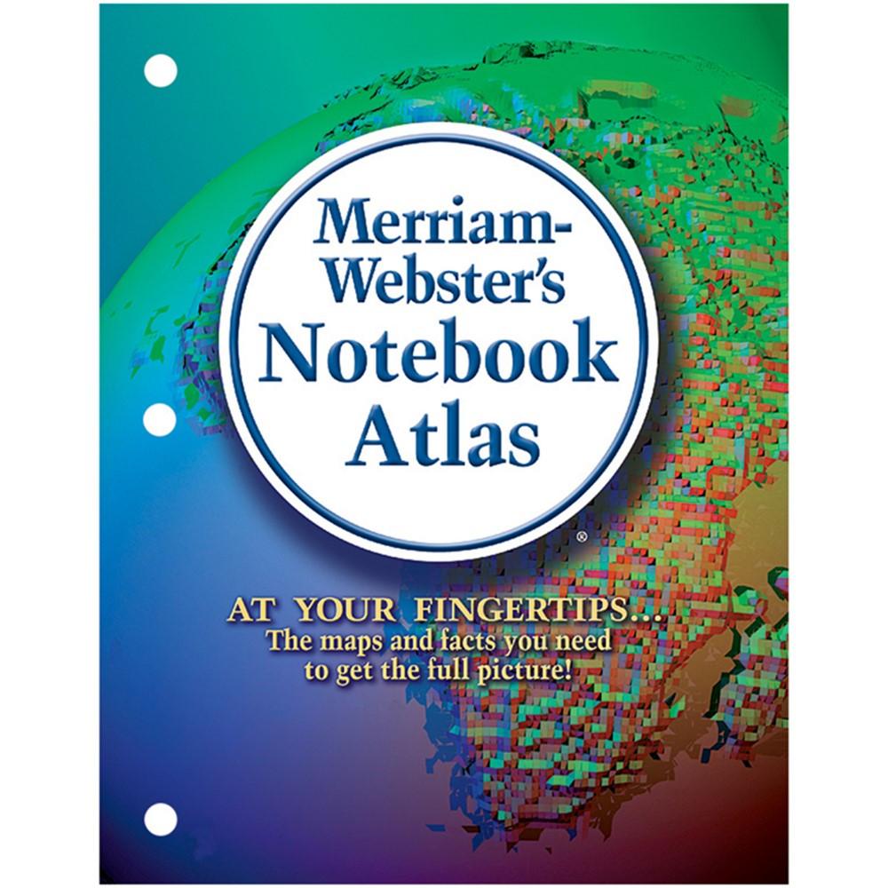 MW-6527 - Merriam Websters Notebook Atlas in Maps & Map Skills