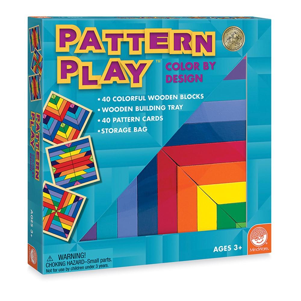 MWA25105W - Pattern Play Blocks Age 2 & Up in Patterning