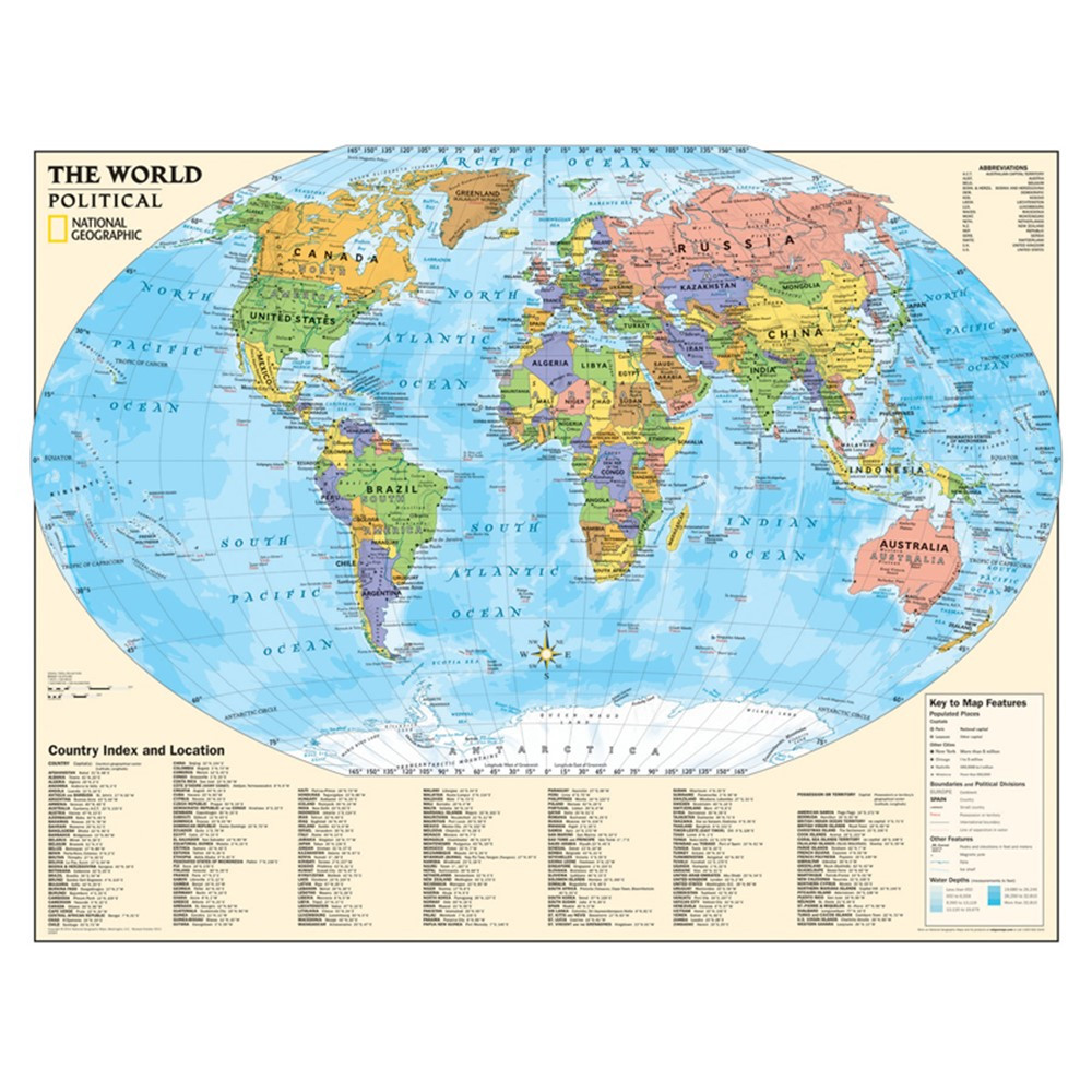 world map features for kids image collections