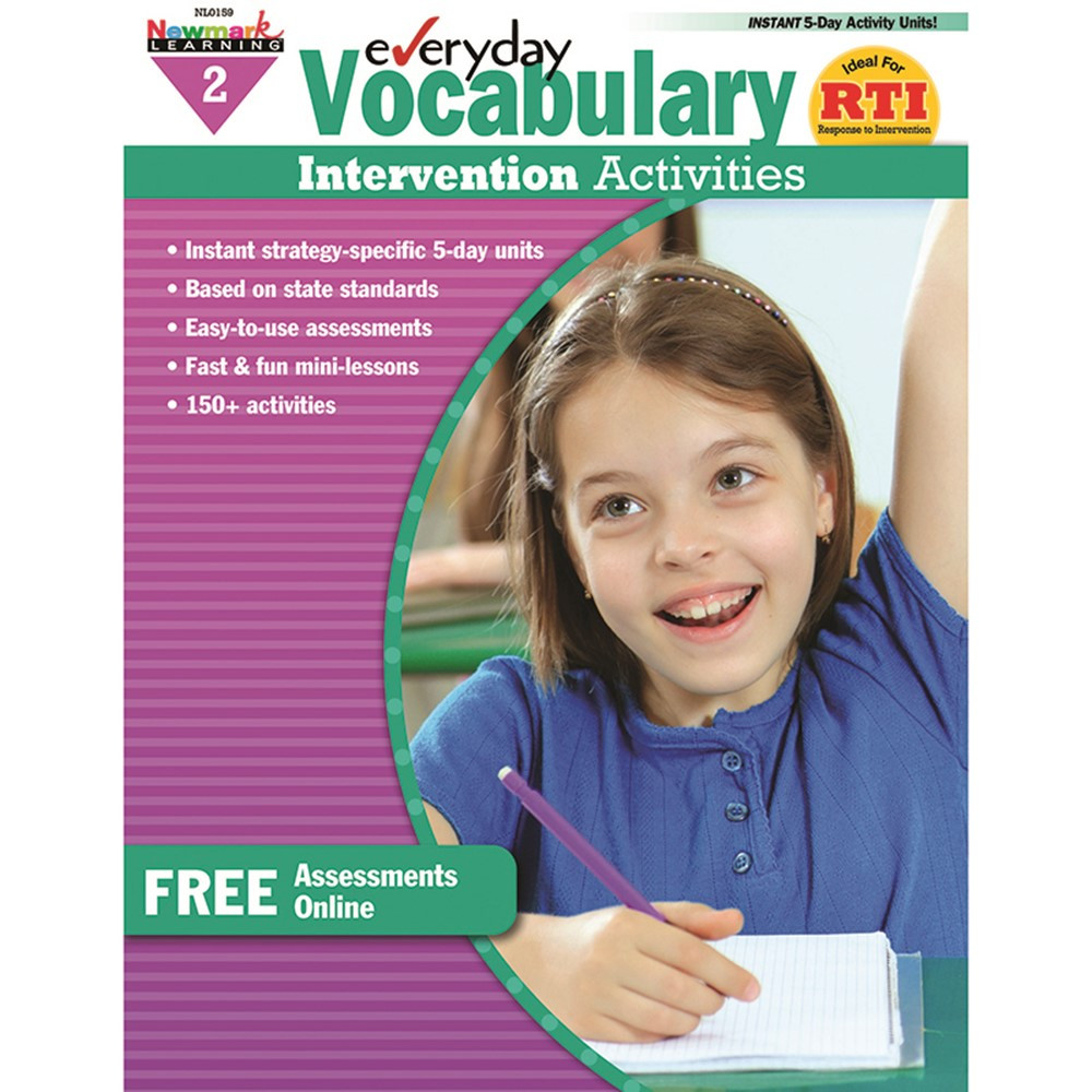 NL-0159 - Everyday Vocabulary Gr 2 Intervention Activities in Vocabulary Skills