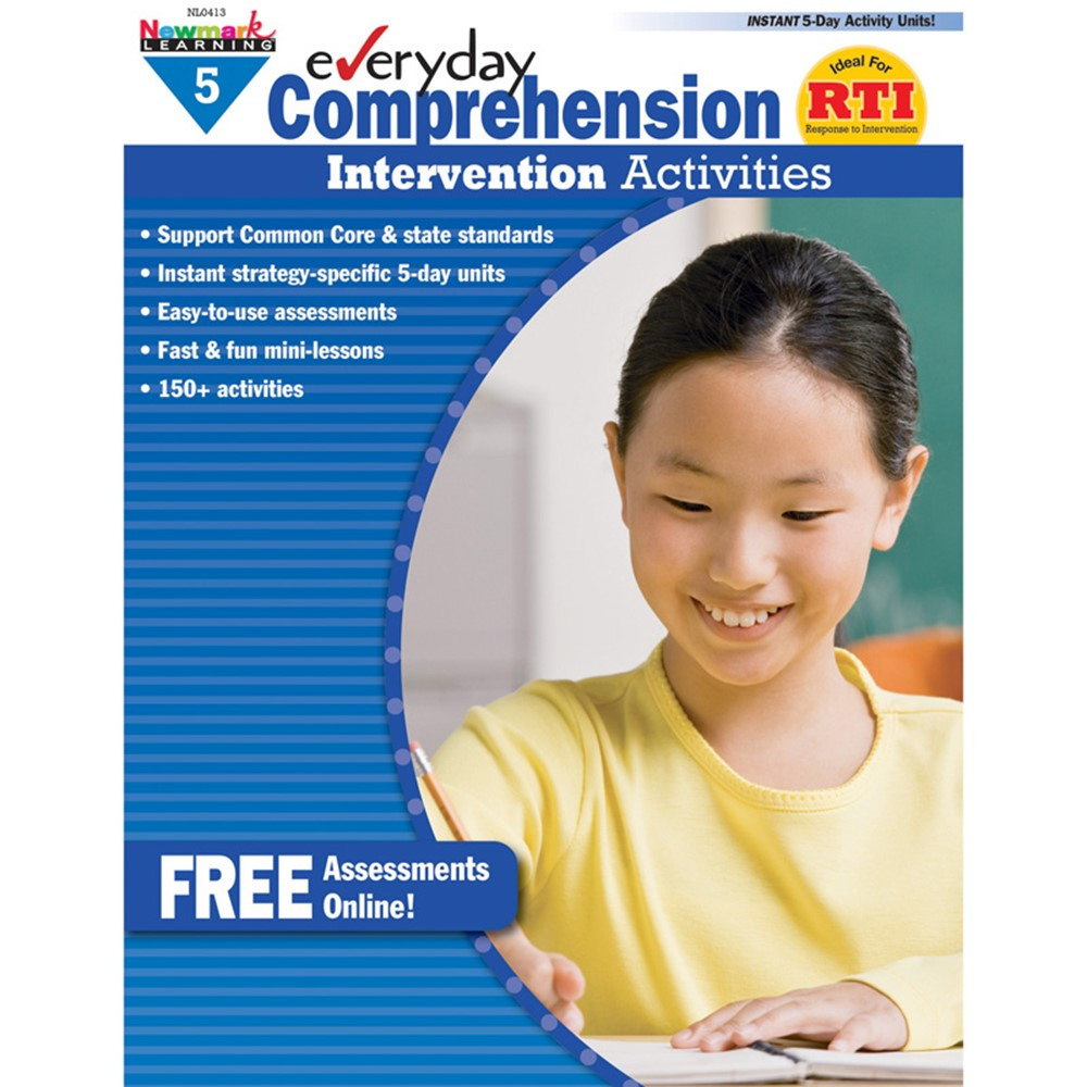 NL-0413 - Everyday Comprehension Gr 5 Intervention Activities in Comprehension