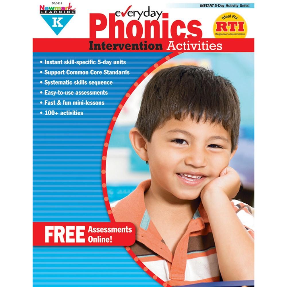 NL-0414 - Everyday Phonics Gr K Intervention Activities in Phonics
