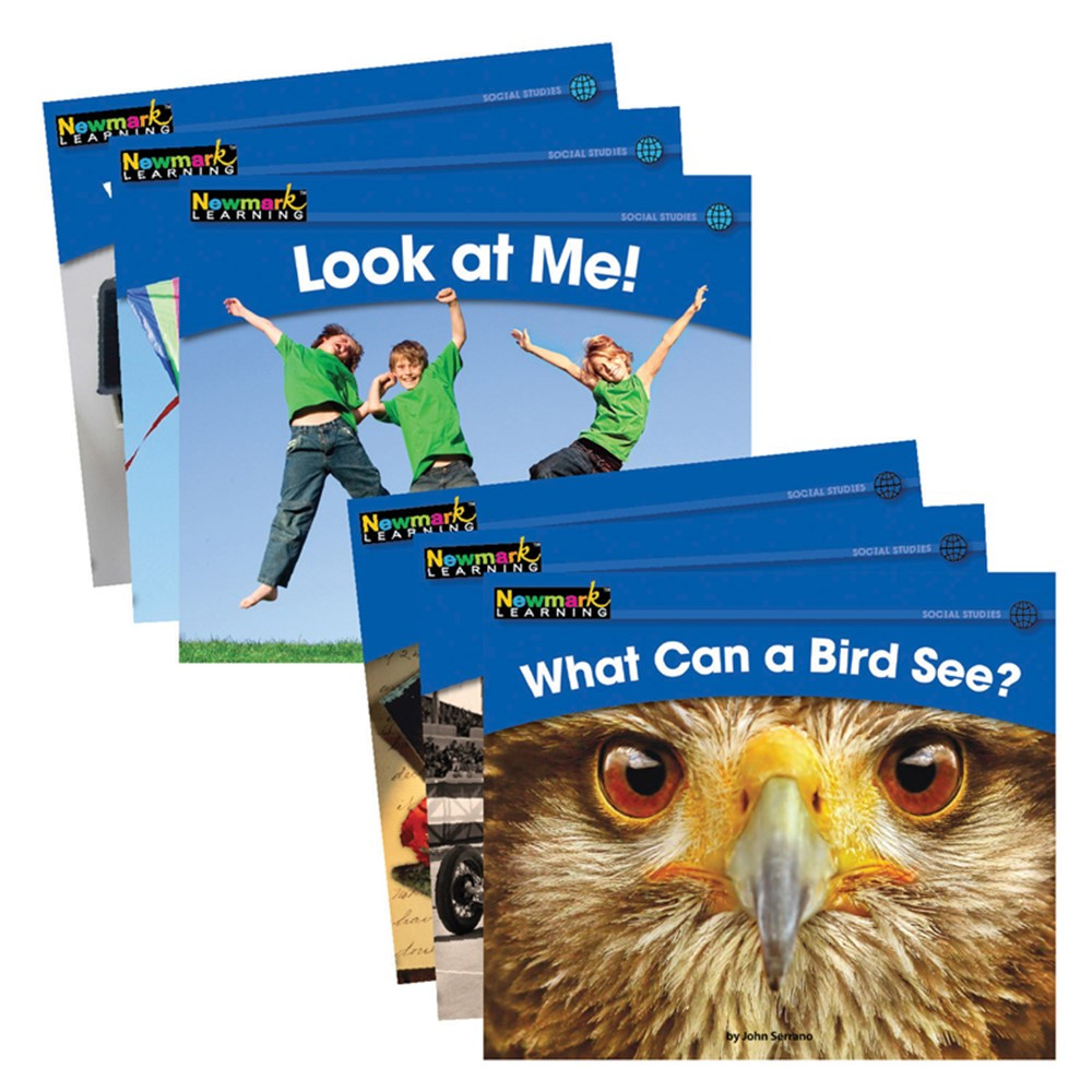 NL-0524 - Rising Readers Leveled Books Social Studies Set 24 Titles in Social Studies