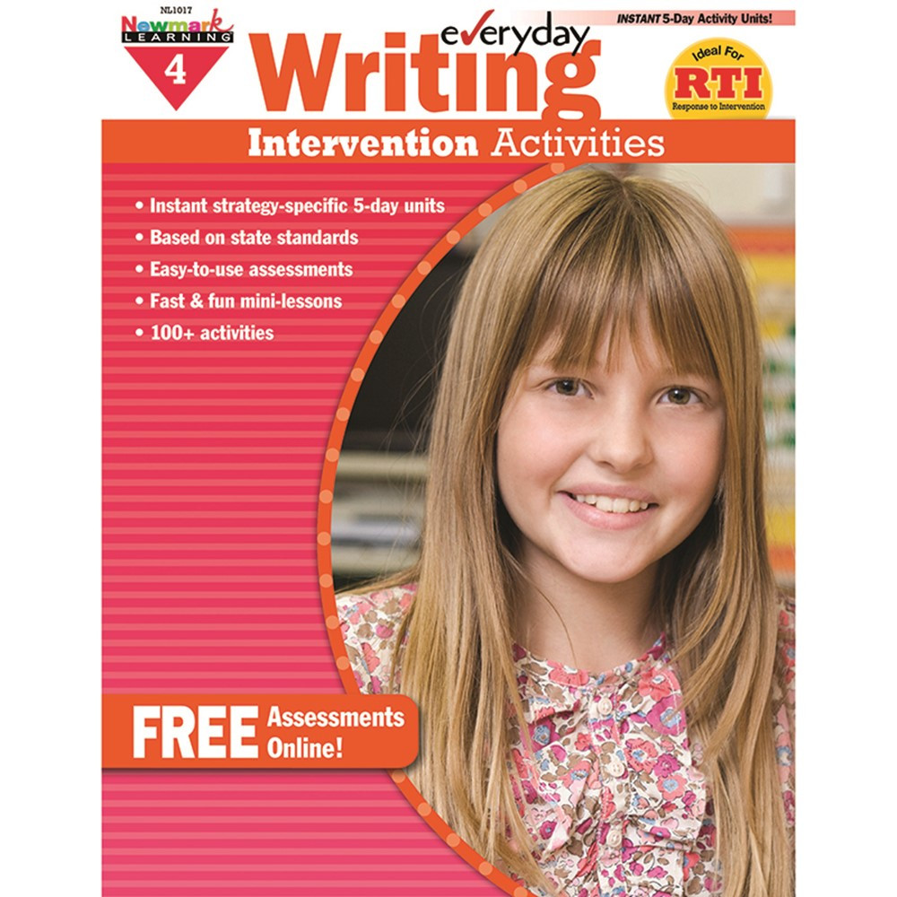 everyday writing gr 4 intervention activities nl 1017 newmark learning. Black Bedroom Furniture Sets. Home Design Ideas