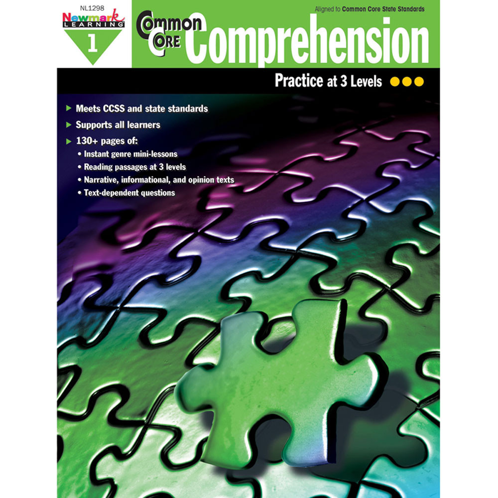 NL-1298 - Common Core Comprehension Gr 1 in Comprehension